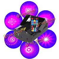 Новый мини пульт дистанционного управления LED сценическое освещение на Рождество дискотека лазерного проектора