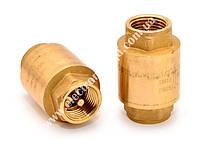 Клапан зворотний муф. Ду 15 (латунь,Арт.999Н код 199905100, IVR)