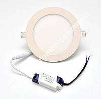 Світильник круглий Downlight 15W 4000K (20) LED-PLR-15/4