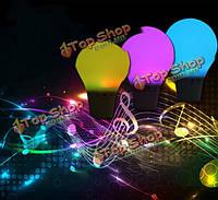 Творческий многоцветный Bluetooth динамик музыкальный плеер LED умный лампа