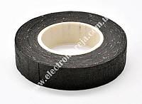 Ізострічка ХБ 0,36мм х18мм чорна 10м