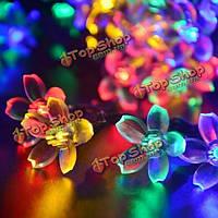Гирлянда Цветы 50 LED на солнечной энергии 7м