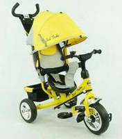 Хит! Трехколесный велосипед Best Trike 6588, колеса EVA, желтый