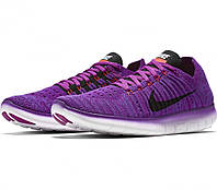 "Женские кроссовки Nike Free Run Flyknit ""Purple Night"""