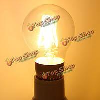 E27 4W теплый белый 400lm початка LED нить ретро щелочных лампочки 220В