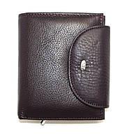 Кожаный кошелек женский фиолетового цвета