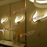 17w современный простой LED зеркало настенный светильник для ванной спальни гостиной