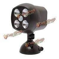 2W супер яркий детектор движения авто датчика LED беспроводной 10Lux ночная охрана свет