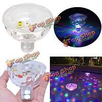 Плавающей подводной LED дискотека aquaglow световое шоу бассейн джакузи спа лампы