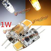 G4 1w початка спот лампа лампа накаливания LED теплая/чисто белый AC/DC 10-20В