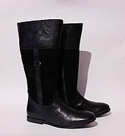 Шикарные кожаные сапоги Woolworths, Англия-Оригинал