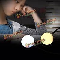 Портативный usb гибкий магнит LED раунд ночной свет для дома общий открытый кемпинг
