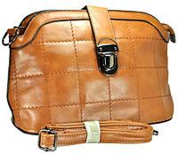 Арт 8133-3 Клатч-сумка св.-коричневый 28х17,5х11см