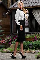 Классическая элегантная черная юбка