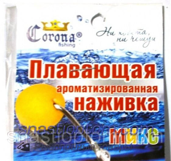 Наживка Корона пенопласт, Микс, micro, (2-4мм)