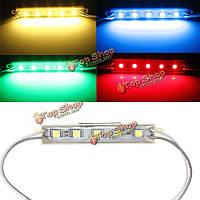 5 цветов 5 SMD 5050 Светодиодный модуль свет водонепроницаемые полосы света лампы 12V