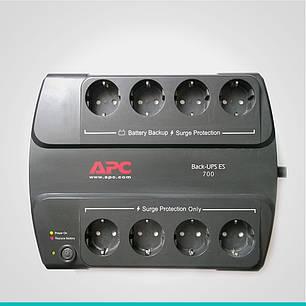 Источник бесперебойного питания Back-UPS ES 700VA APC (BE700G-RS) , фото 2