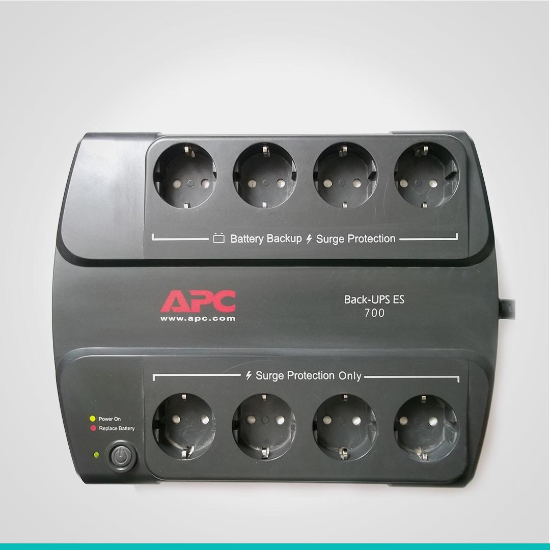 Источник бесперебойного питания Back-UPS ES 700VA APC (BE700G-RS)