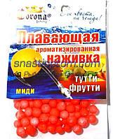 Пенопластовая наживка Corona, Тутти-фрутти, midi, (6-8мм)