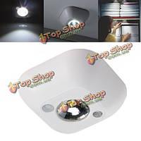 Мини беспроводной PIR датчик движения свет ночи с питанием от батареи крыльцо лампа кабинет