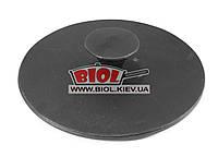 Пресс (прижим) чугунный 26,5см 7кг (плоский) для сковороды ГРИЛЬ 28 см ЭКОЛИТ (Украина)