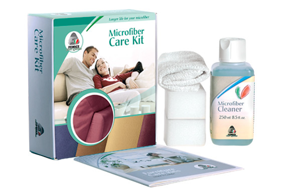 Microfiber Care Kit — Комплект для очищення і відновлення оббивки з мікрофібри / Alcantara.
