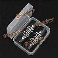 KeepPower d2 двойного назначения батареи пластиковый корпус для 18500 и 18350