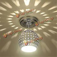 Современный E27 потолочный светильник с рассеивающей свет глобус дизайна теневой эффект
