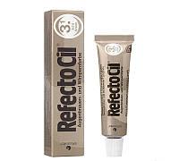 """Фарба для брів та вій №3.1 світло-коричнева """"RefectoCil"""""""