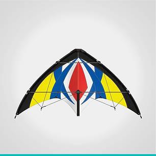 Пилотажный кайт Flash 170CX (воздушный змей), фото 2