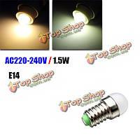 Е14 LED Лампа 1.5 W белый/теплый белый мини холодильник лампы AC 220-240В