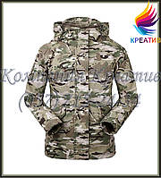 Ветрозащитная  камуфлированная куртка под заказ (от 30 шт.)
