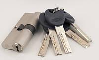 Секрет 100 (50ключ-50ключ) лазер, никель, латунь, 5 ключей (Империал ZN 100 (50к-50к)NI)