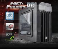 Компьютер для игр FF Carbide i5-6600K 3.5GHz/ 8GB /4GB GTX 970/ 120 SSD/ 1TB/ 750W