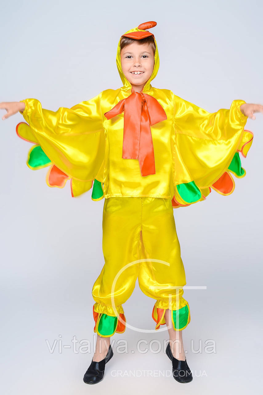 Детский карнавальный костюм Жар-Птица, Петушок, фото 1