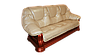 "Классический кожаный диван ""Grizli"" (Гризли) Курьер, фото 3"