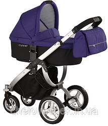 Коляска универсальная 2 в 1 Bebe beni 4runner Lavender violet