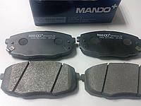 Колодки (MANDO) тормозные передние на Kia Ceed 06-, Cerato 09-/Hyundai i30