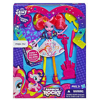 Кукла My Little Pony Equestria Girls Pinkie Pie Doll With Markers and Microphone