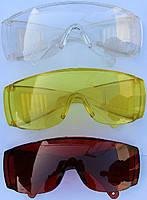 Очки защитные пластик (прозрачные)