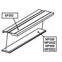 SP202   Аллюминиевый держатель магнитные преобразователи линейных перемещений.