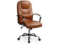 Кресло HALMAR NELSON коричневый
