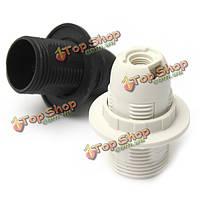 Маленький винт Эдисона СЭС E14 лампа Лампа держатель кулона гнездо абажур кольцо