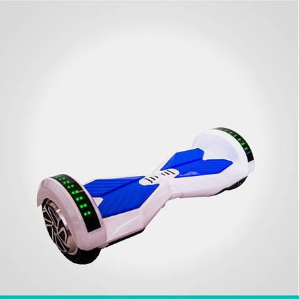 Гироскутер Smartway Lambo Led+ Music White/blue, фото 2