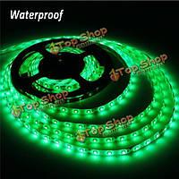 5м зеленый 300 LED с SMD 3528 Гибкие светодиодные полосы света водонепроницаемый IP65 DC 12V