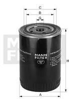 Масляный фильтр MANN FILTER (МАНН) W 1374/6