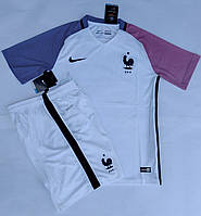 Футбольная форма Cб. Франция ЧЕ 2016 выездная