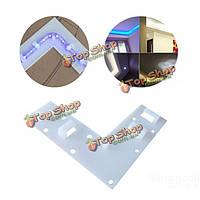 LED Газа оборудование и аксессуары L-образный зажим для зажима SMD 5050 3528 3014 полосы света