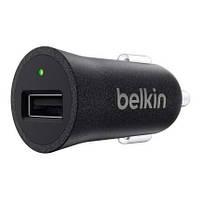 Автомобильное зарядное устройство belkin usb mixit premium 2.4amp black (f8m730btblk)