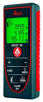 Leica DISTO™ D2 — лазерний далекомір-рулетка